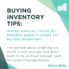 Friday FAQ buying inventory